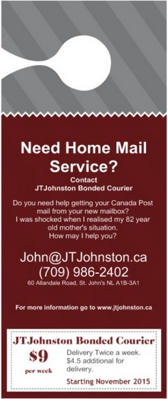 jtjohnston.ca: Bonded Courier